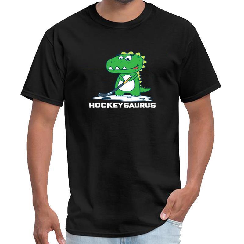 Imprimé Hockeysaurus Hockey drôle mignon enfants dinosaure cadeau hommes chemise weeknd t et les femmes rick T-shirt 3XL 4XL 5XL top tee