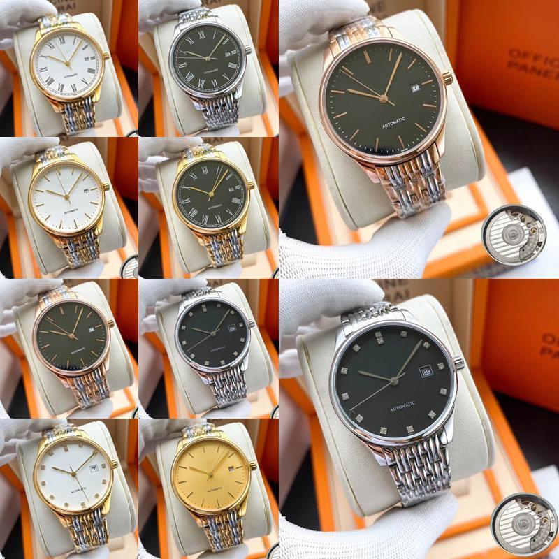 Longines Diamant Automatikuhr Frauen Dame Luxus-Designer-Uhren Damen weibliche Kleid Schnalle Gold Geschenk für Mädchen ZnGS # Armbanduhren stieg