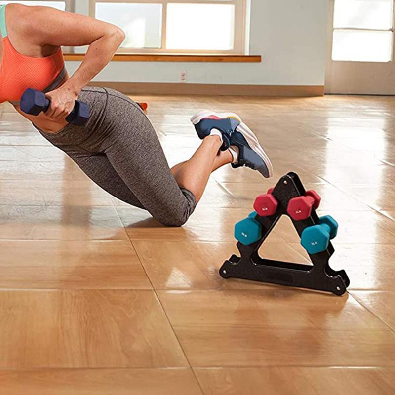 Plástico rack suporte 3 Pesos Nível Alça Suporte para equipamentos desportivos acessórios de fitness ASD88