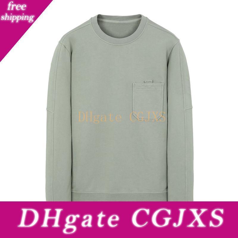19ss 60651 Cep Crewneck Sweatshirt T0pst0ney Kazak Erkekler Kadınlar Moda Günlük Sade Kaykay Hflswy291