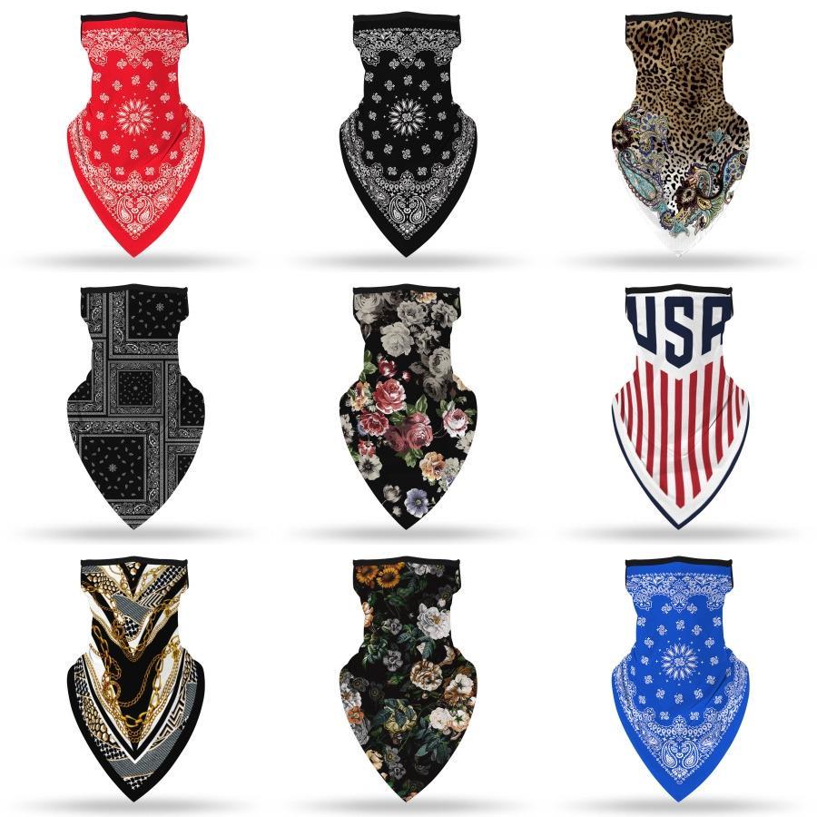 Градиент Волшебное Printed Multi-Color Anti-Uv маска для лица шеи Лето Многофункциональный шарф Открытый # 394