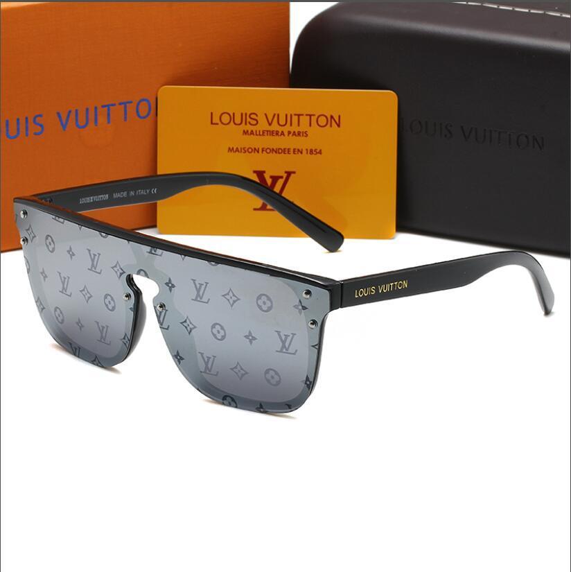 Moda feminina Glass Coating óculos de sol de Verão Designer óculos de sol do vintage com caixa original 1082