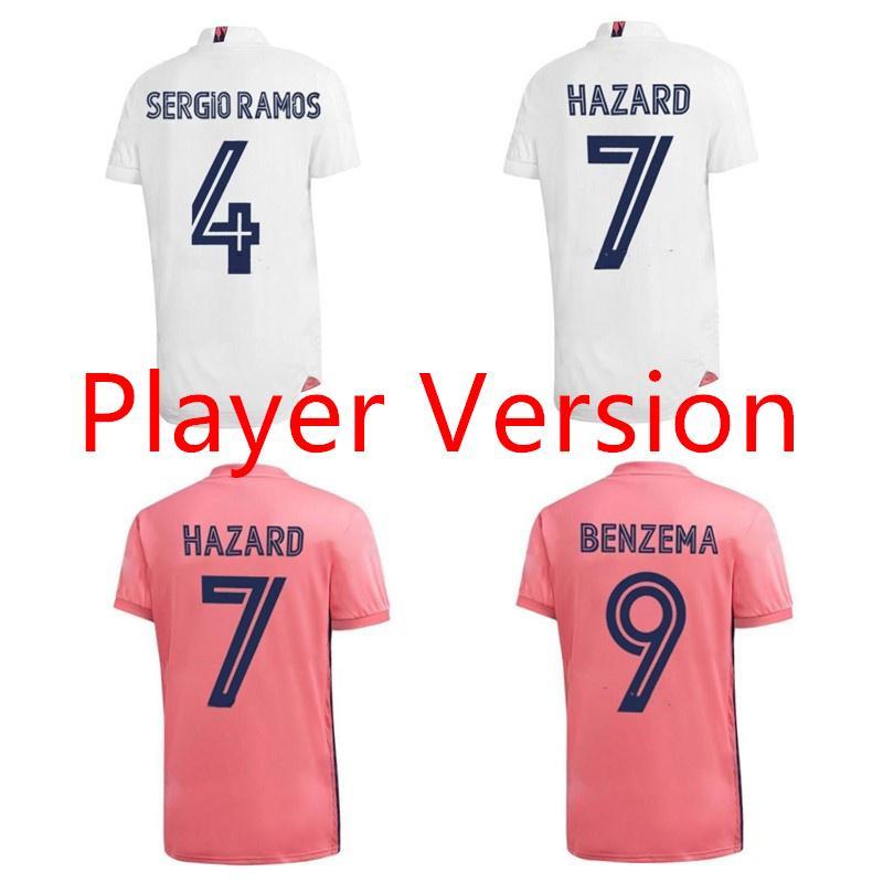 Player version 20 21 réelle ASENSIO MODRIC de football madrid Maillot de foot 2020 2021 kroos CITP jersey RISQUE camisas de futebol