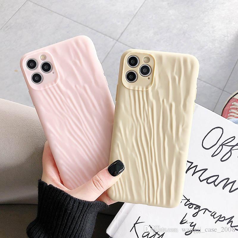 Casos textiles sólido del teléfono Para iPhone11 11Pro Max XR XS Max 8 X 7 Contraportada casos nuevos de lujo