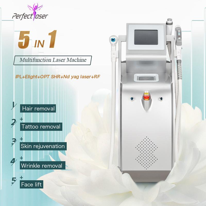 Laser Machine cheveux OPT épilation laser machine épilation à la maison Q-Switch Laser détatouage meilleurs prix