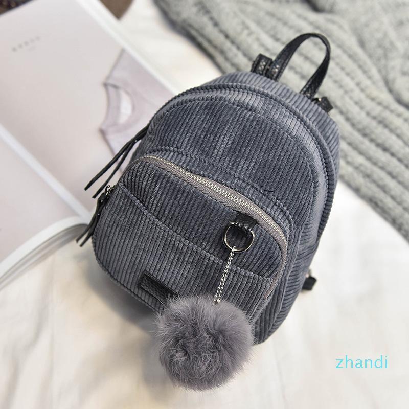 Großhandels-Frauen 2019 neue Mini Frauen Rucksack Netter Teenager Umhängetasche Mädchen Kleiner Rucksack für die weibliche Packtaschen
