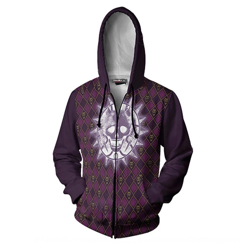 New JOJO's wonderful adventure series 3D Hoodie sweater cosplay animation 3D sweater hoodie