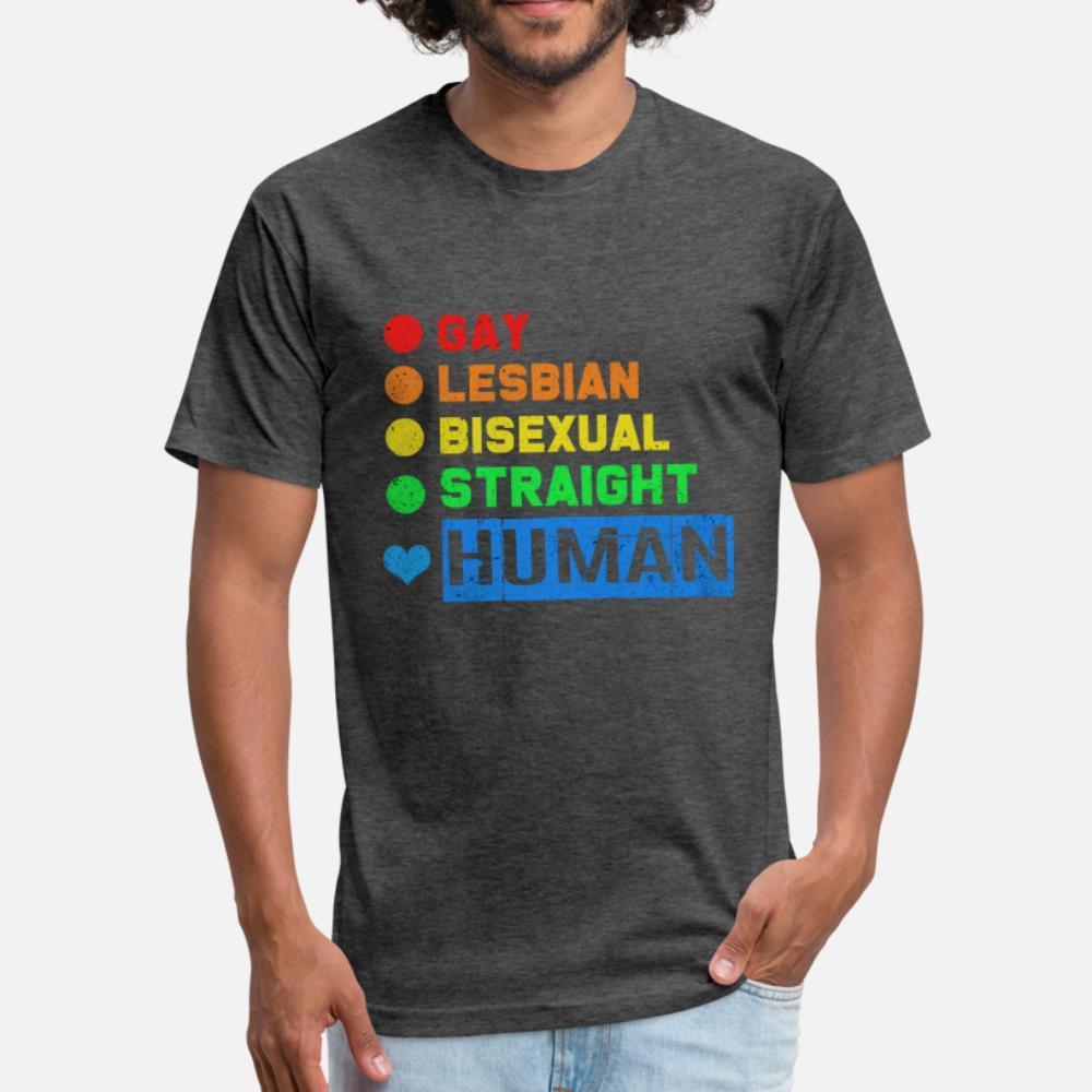 shirt homme lgbt t Conception 100% coton col rond mince célèbre Casual Printemps Nouveauté chemise