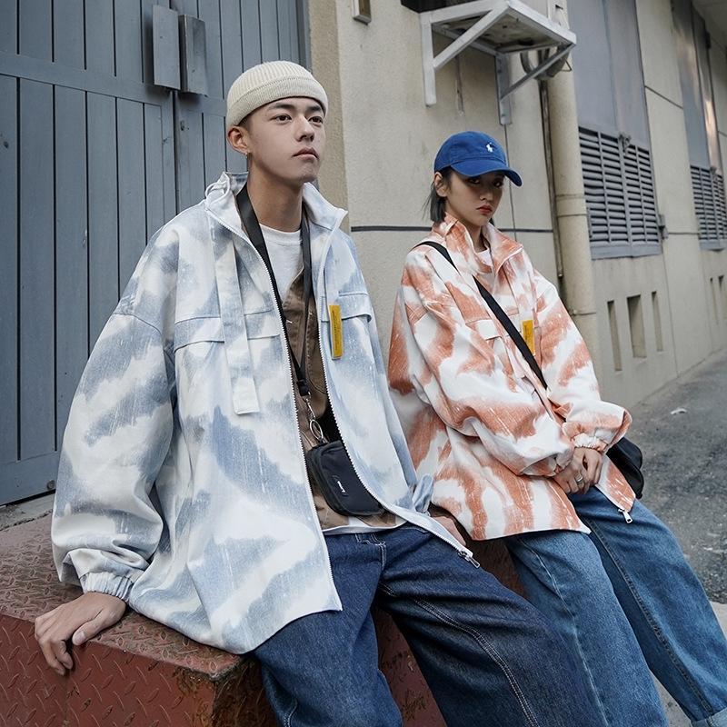 mdkSk Yu9eF desgaste 2020 das mulheres tingido desgaste casal weartop casal vestido ferramental solta casuais personalizado casaco esportivo masculino e estande jaqueta