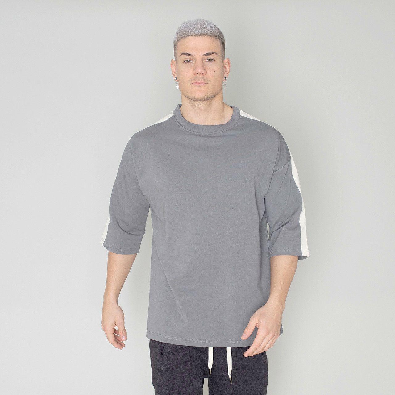 Мужчины Tshirt Половина рукава рубашки для мужчин вскользь Сыпучие Спорт Tshirt Harajuku Hip Hop Футболки Мужские рубашки GYM
