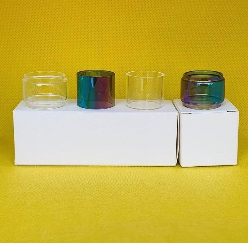 Vaporesso NRG PE 3,5 ml Serbatoio lampadina normale tubo di vetro trasparente Arcobaleno Bubble Replacement 1pc / scatola 3pcs / box 10pcs / box confezione Retail