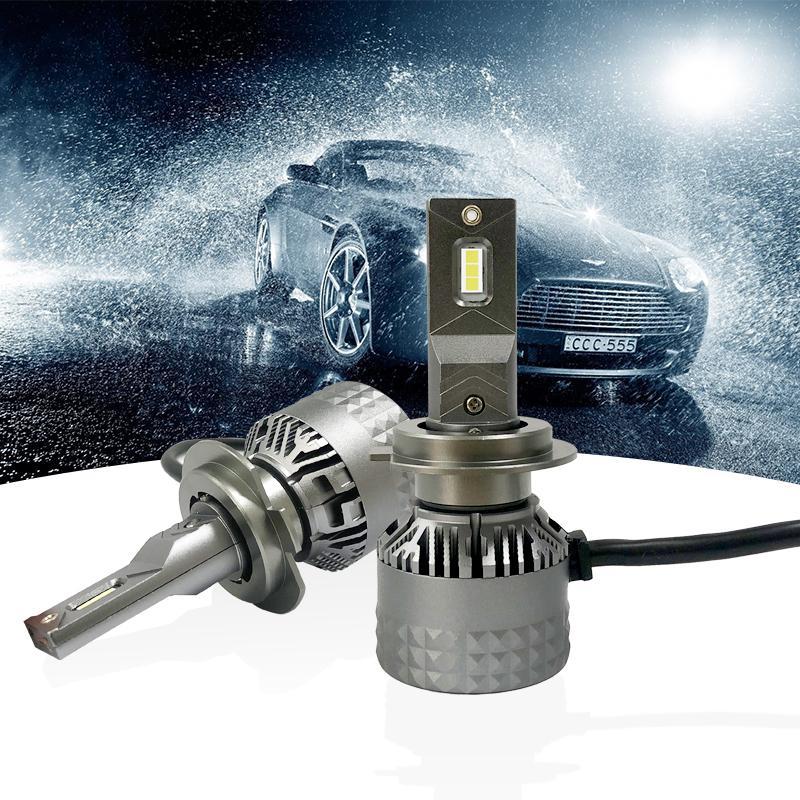 Super luminoso LED de 65W linterna del coche H1 H11 LED faros H7 H4 H3 H8 4 3 9005 9006 D2S D2R HIR2 9012 Auto Bulbos 10000LM 6000