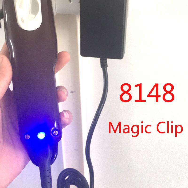 Marque 8148 magique clip électrique Tondeuse à cheveux Tondeuse locale Barber rasoir pour les hommes de style Outils Cutter professionnel sans fil portable