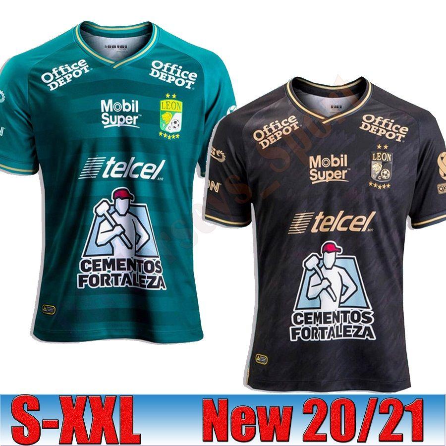 2020 2021 Club León Futebol Jersey 20/21 Necaxa Casa Fora Tailândia Qualidade LIGA MX Kit Jerseys Pachuca Laguna Futebol uniformes Shirts