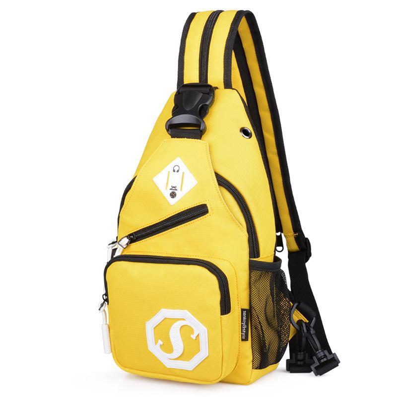 أكياس الكتف أكسفورد متعددة الوظائف للماء التخييم حقيبة السفر حقيبة الهاتف المحمول حقيبة المدرسة الصيف قصيرة الرسل حقيبة