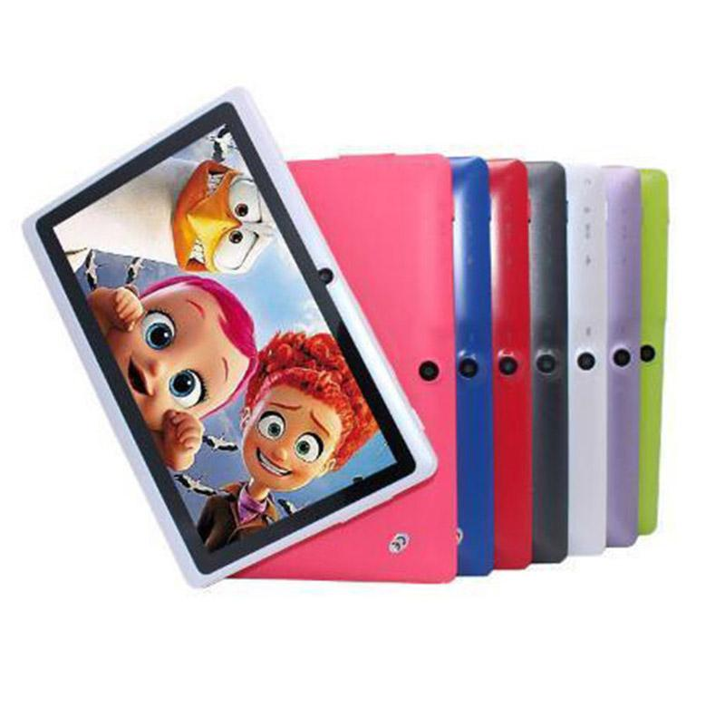 """New 7 inch android 4.4 cheap simple tablet pc wifi dual camera quad core 7"""" tab pc battery tablets pc"""