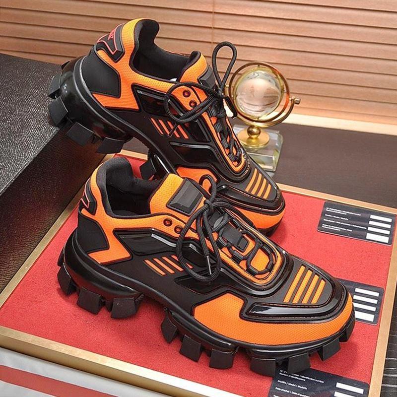 Herren Schuhe Turnschuhe beiläufige Breathable bequeme Turnschuhe Schuhe Shaspet Cloudbust Donner Knit Turnschuh-Mann-Schuhe Gummisohle