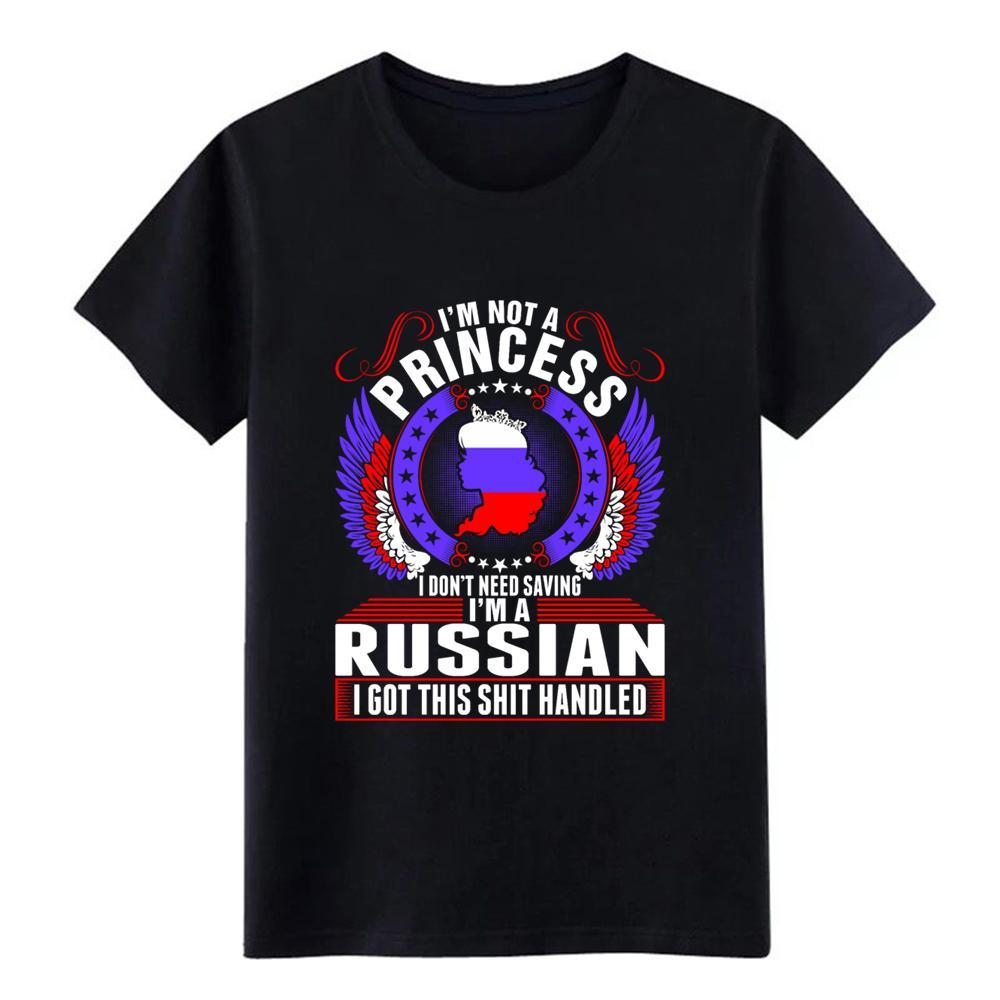 im a pr incess di baseball della maglietta russo Personalizzato Breve o-collo di base solido Interessante autentica camicia di lettere d'estate