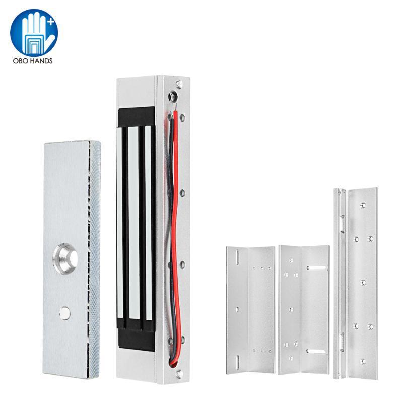 180KG à prova d'água / £ 350 Elétrica Magnetic Bloqueio DC12V eletromagnética Locks ZL Suporte para Porta Sistema de controle de acesso eletrônico
