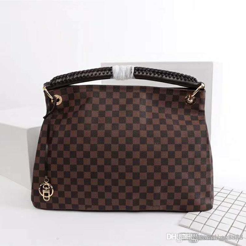 Frauen-ein-Schulter-Beutelhandtasche, Lederherstellung, große Kapazität, Design Tasche, modern und großzügig Nummer: 19.