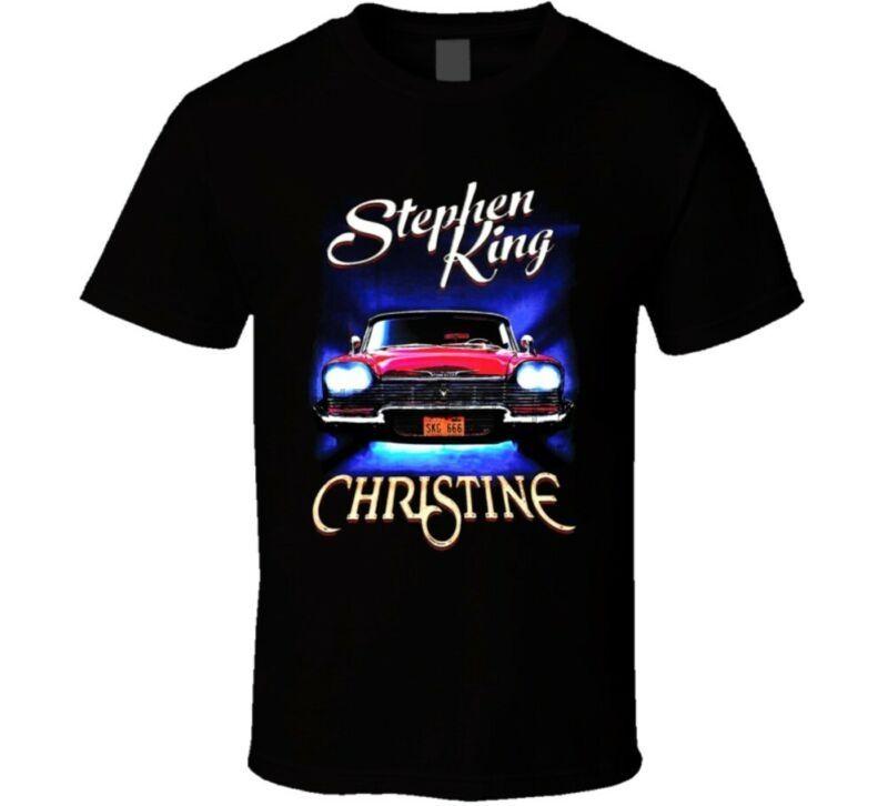 Christine Stephen King Master horror leyenda libro fan de película camiseta