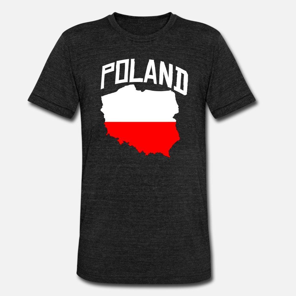 Pologne t shirt homme coton imprimé Euro Taille S-3XL Intéressant été drôle adapter shirt original
