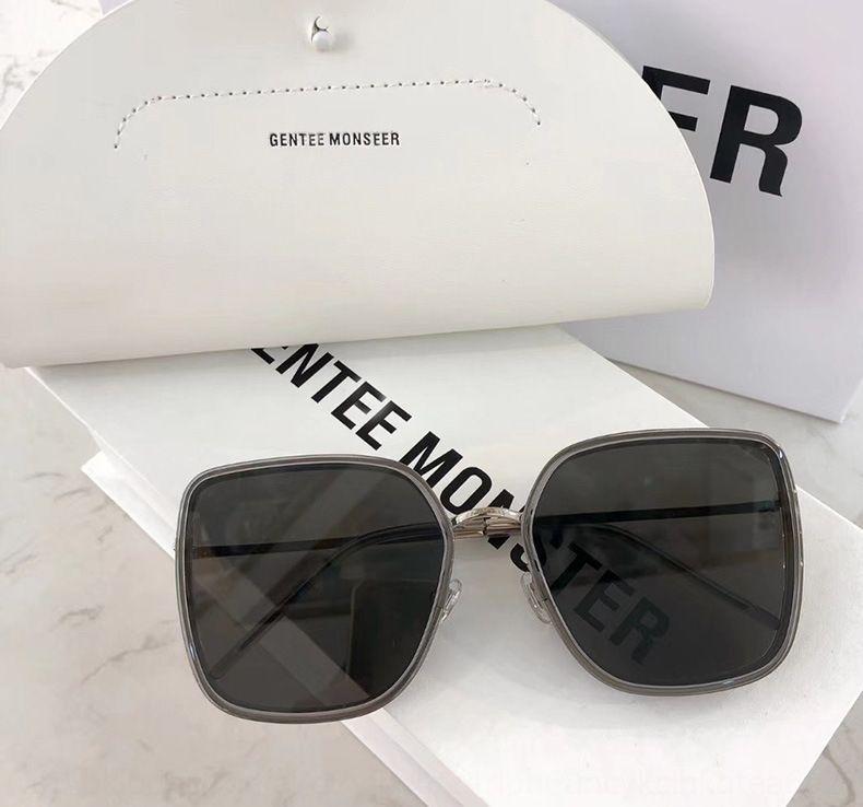 2020 nueva MUMU de GM sol gafas de sol de la mujer de cara redonda internet cara grande roja adelgazar las gafas de sol de moda ins estilo coreano