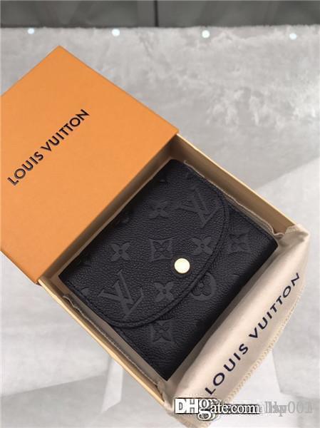 donne calde bag di lusso raccoglitore del progettista della borsa della moneta air star genuino cuoio titolare della carta di formato serie 7264991 M64148 LOU 12x10.5x due centimetri con box