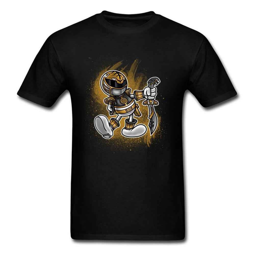 Komik Anime T Gömlek Boys Erkekler 3D Çizim Tenten Ranger Kılıç Tişört Yaz Popüler Erkek Üst Tişörtler Üniversite Pamuk Giyim