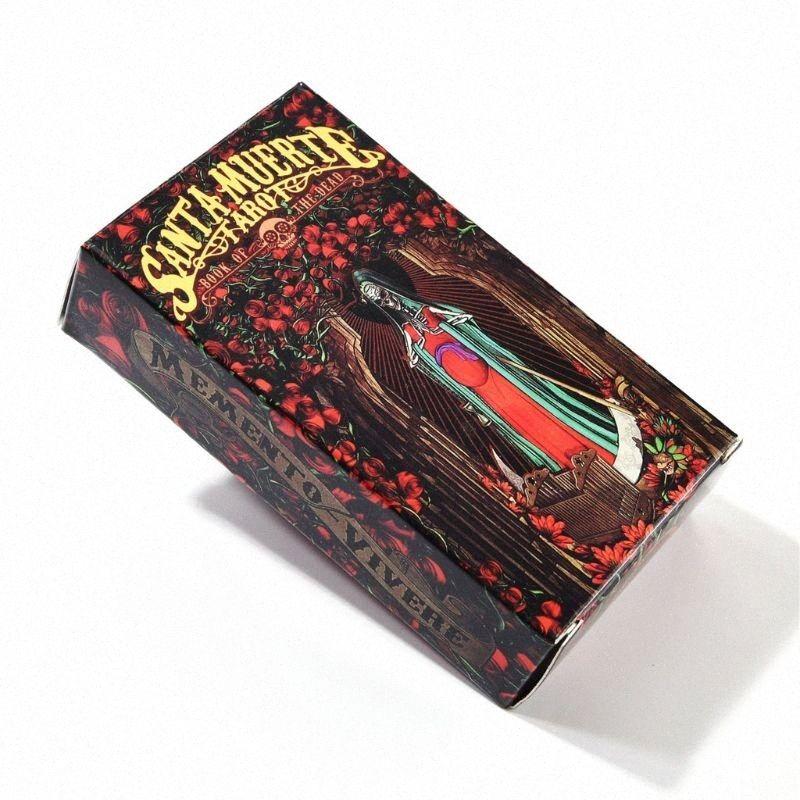 78pcs Karten Sankt Muerte Tarot Deck Totenbuch Family Party Brettspiel N58B Andere Golf Produkte Golf BGN1 #