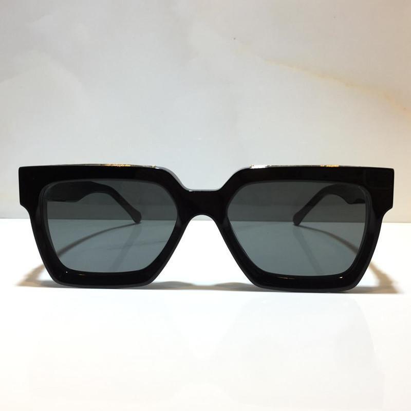 Роскошные Миллионеры очки для мужчин полного кадр Урожай дизайнера 1.1 очков Женщин MILLIONAIRE черного Логотип 1.1 Миллионеров Sun glases