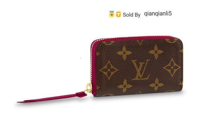 qianqianli5 3FX9 ZIPPY MULTICARTES M61299 NEW WOMEN FASHION SHOWS EXOTIC LEATHER BAGS ICONIC BAGS CLUTCHES EVENING CHAIN WALLETS PURSE