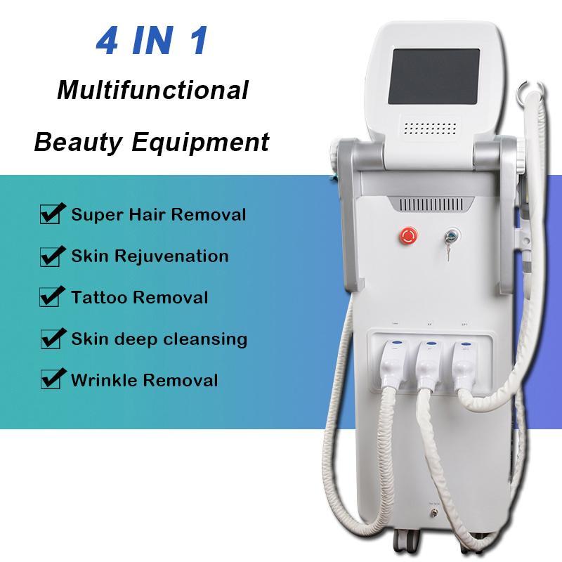4 çok fonksiyonlu güzellik donanımları OPT IPL shr lazer yüz cilt lazer tedavisi akne tedavisi 1 İÇİNDE