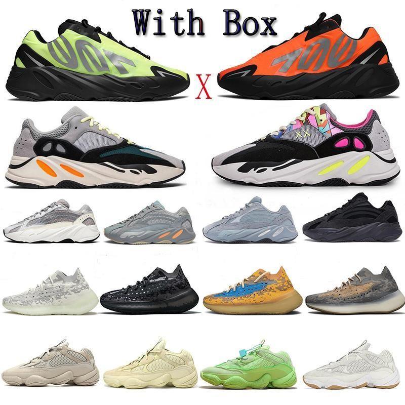 Adidas Yeezy Boost 350 2020 SsYezzyYezzys V2 350Scarpe Kanye West Runner riflettente 700 TPU ammortizzazione scarpe da corsa delle donne Mens carbonio Teal Blu Lavagna luminosa