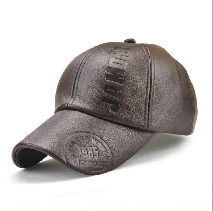 Outono chapéu boné de beisebol e chapéu de inverno novo boné de beisebol Outono ao ar livre dos homens e inverno impressão explosão simples