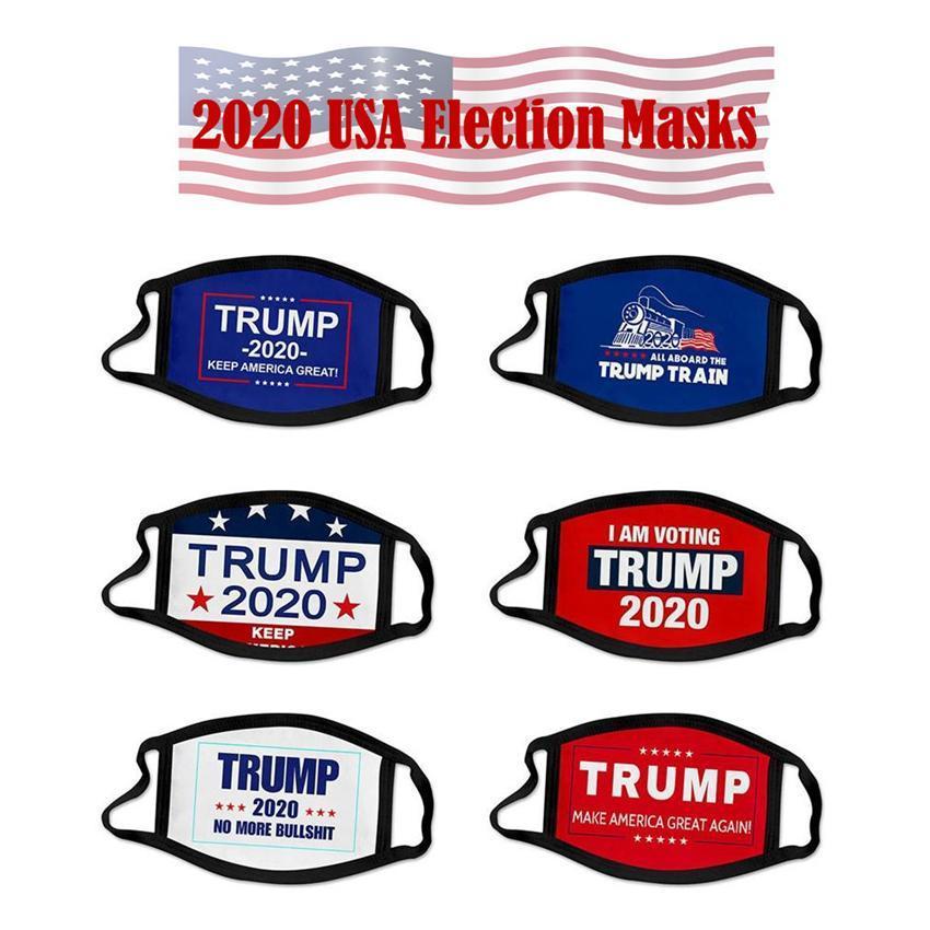 2020 Mask Elezione Trump cotone Viso Tenere Maschere l'America Great Again Cosplay Biden partito Viso FY9008 della polvere Inquinamento Bocca di copertura
