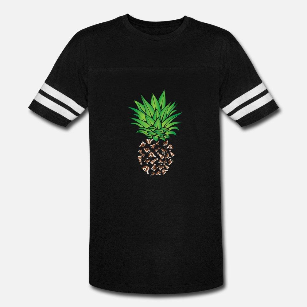 Beagle Köpek, Ananas, tişört O-Boyun Mektupları Grafik moda İlkbahar Sonbahar Kıyafet gömlek tasarımı Köpek Sahibi t gömlek erkekler