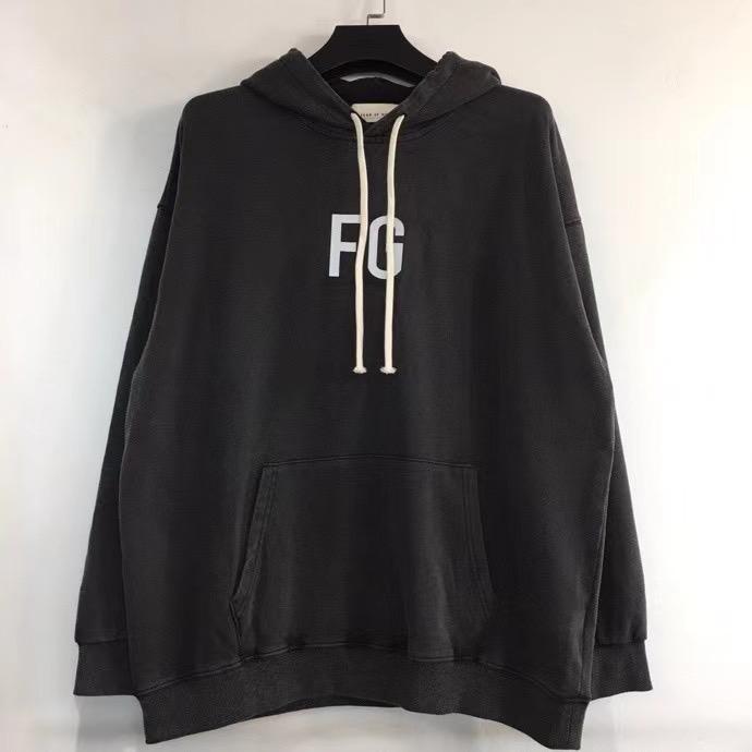 Trend S-XL OF Hooded GOD FG Wealth Trend Reflective Season Main Sixth FOG Men's Sweatshirt 20SS Loose Line All-match EU Size FEAR Gwdha