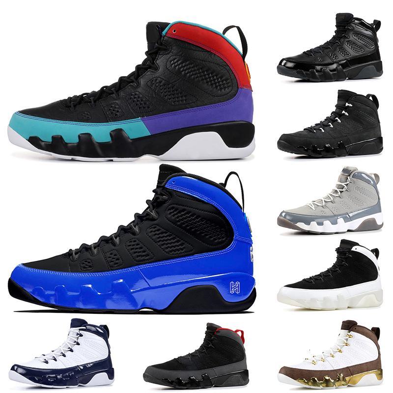 Michael zapatos de baloncesto de Jumpman 9 9s Racer Blue Dream Hágalo UNC atasco del espacio Oregon Ducks ESTATUA retro NakeskinJordánzapato Retros