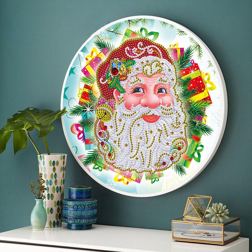 공예 홈 장식 쉬운 프레임 5D DIY 선물 크리스마스 다이아몬드 도장으로 적용