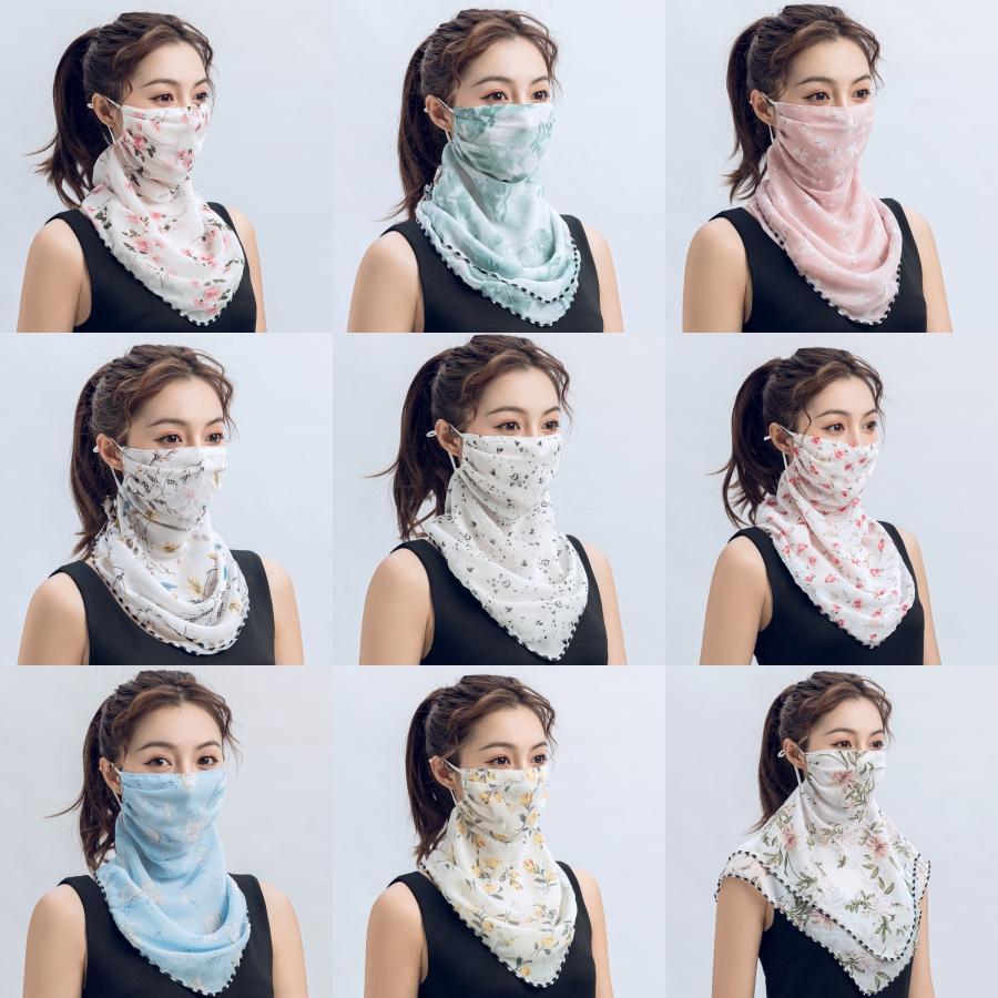 A prueba de polvo de la mascarilla de respiración esponja máscara de protección WashableFog diseño impreso Máscaras # 707