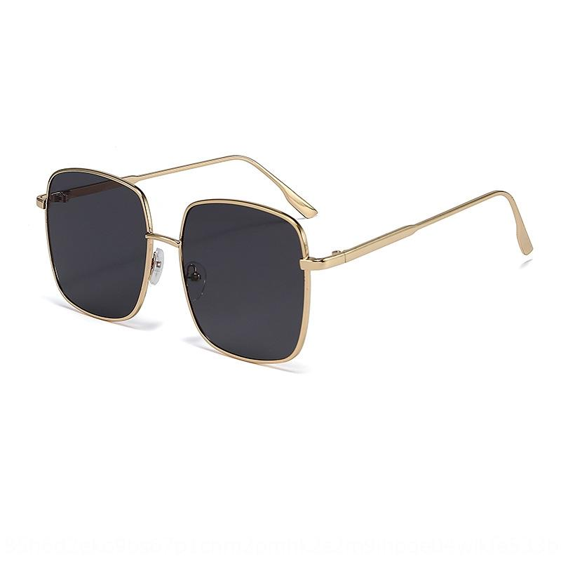 1-57 neue quadratischer Rahmen modisch Allgleiches Anti-UV-Box Box Sonnenbrillen Sonnenbrille Gezeiten Sonne Frauen