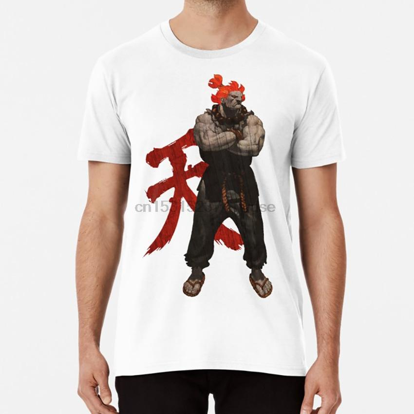 Akuma 04 T Shirt Akuma Ryu Oni Messatsu Tekken Heihaichi Demon Fists