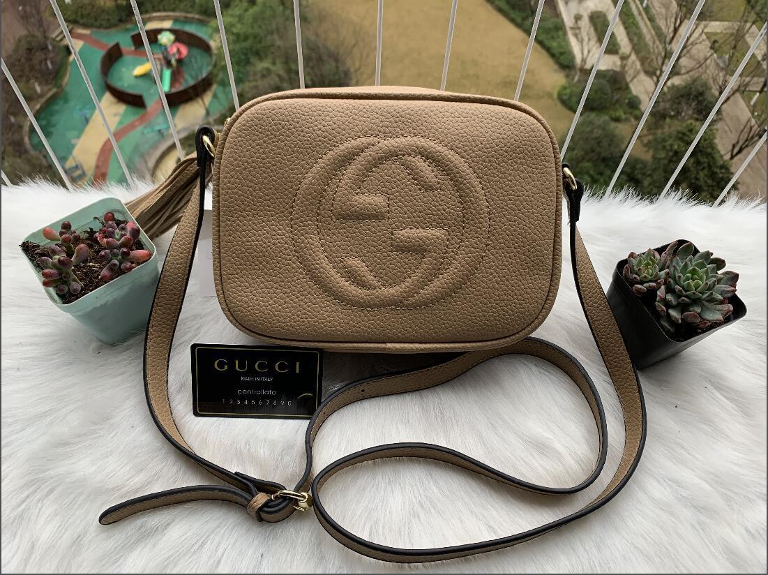 Designer Borse SOHO DISCO Bag borse Vera pelle nappa con cerniera spalla delle donne del sacchetto di Crossbody del progettista borsa 308.364 A4