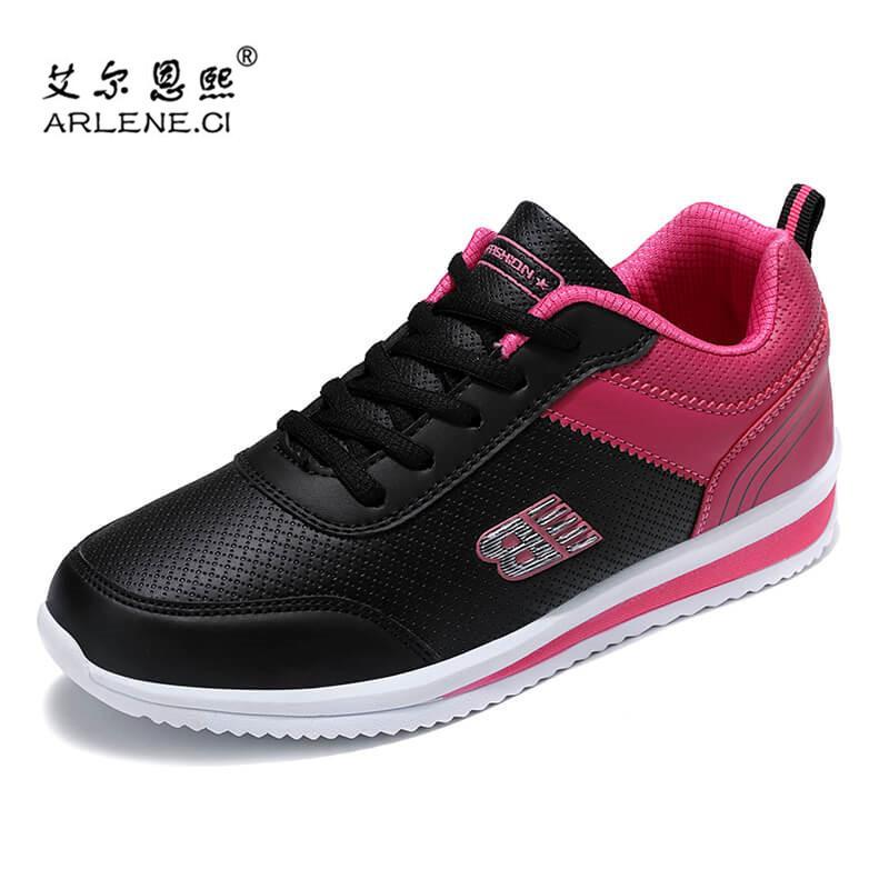 Tenis Feminino 2020 Scarpe da tennis delle donne Lace-Up Moda antiscivolo scarpe da tennis all'aperto casual Sport Shoes Leggero Walking