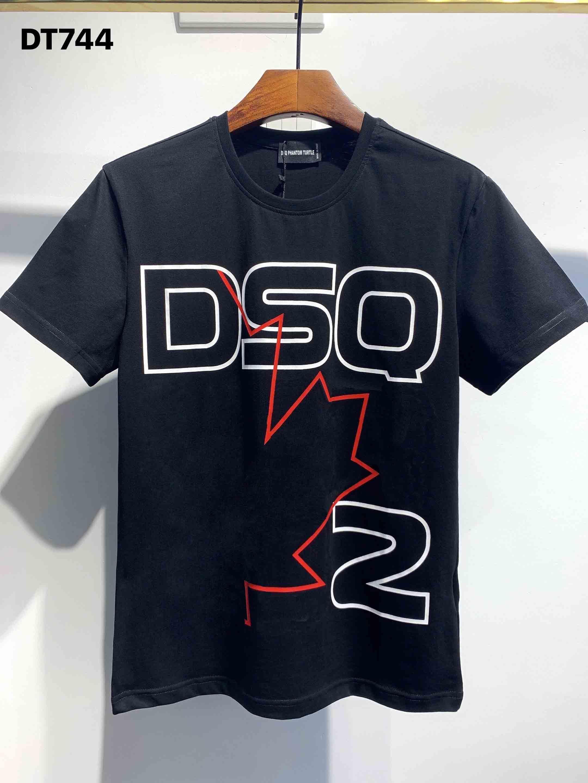 DSQ Phantom Schildkröte 2020SS Neue Mens Designer T-Shirt Italien Mode Tshirts Sommer Männer DSQ T-Shirt Männliche Top Qualität 100% Baumwolle Top 4008