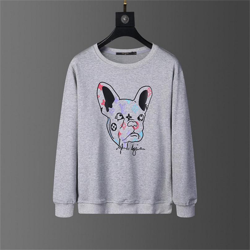 2020ss Neuer Verkauf Mode Hoodie Defektes Bär Sweatshirt Teddybär Trendy Terry Explosion Pullover Männer Art und Frauen Größe M-3XL