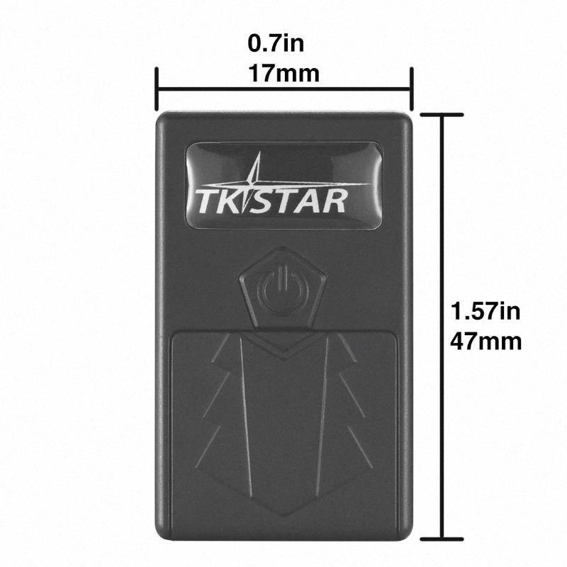 GPS Tracker Super Mini TKSTAR TK921 per auto Bambini controllo voce Tempo reale portatile di monitoraggio Locator Con SOS Alarm Free Web APP QA12 #