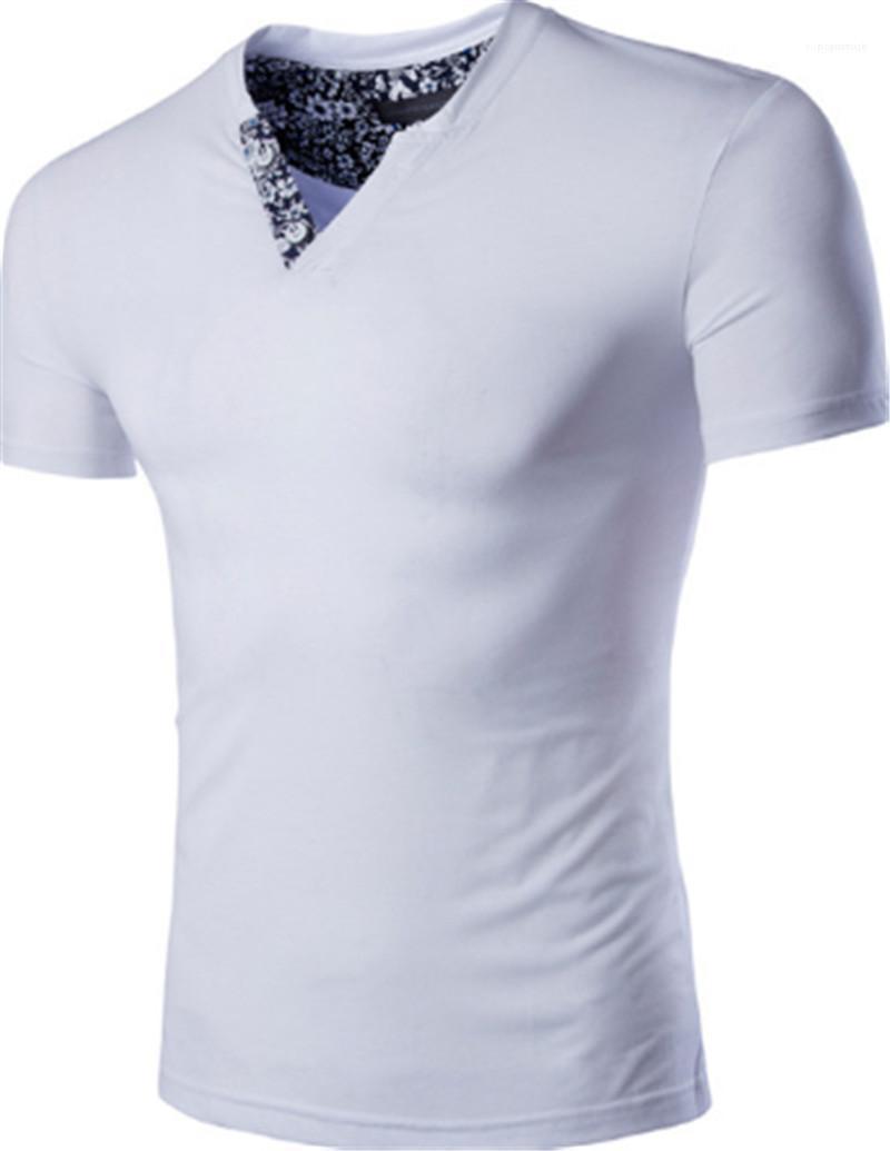 Umgekehrtes Dreieck-Sommer-Kleidung Mode Breath Männliche Teenager Tops Designer Männer nehmen T-Shirt beiläufiges Fest