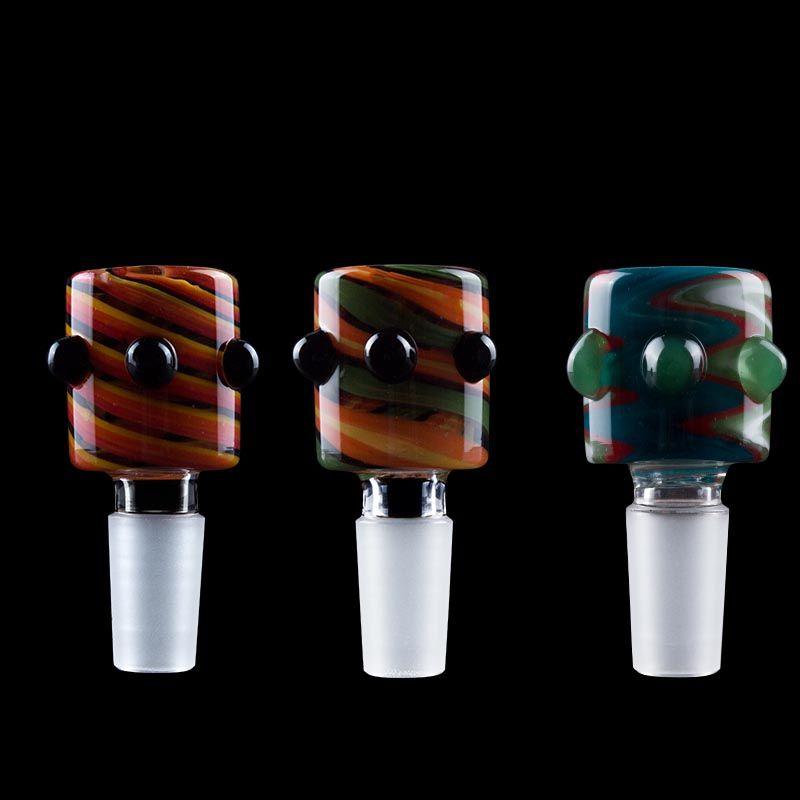 Pipes Vaping_Dream G011 Limpar Joint 14 milímetros 19 milímetros Masculino Glass Bowl Heady cor de água de vidro Bong Dabber Tobacco bacia
